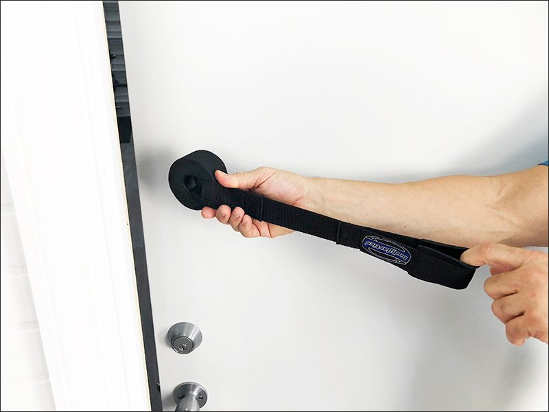 resistance band door handle
